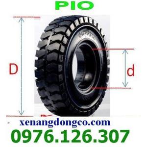 Vỏ đặc xe nâng 650-10 Pio