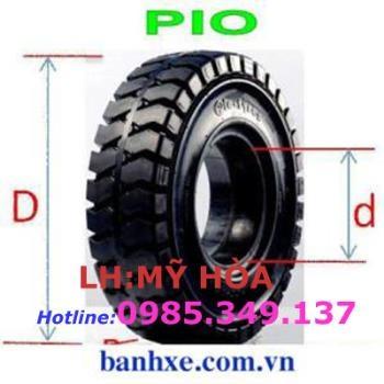 Vỏ đặc xe nâng Pio 18x7-8