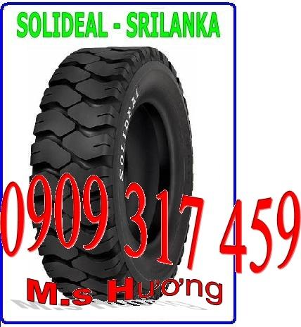 Vỏ xe nâng solideal - srilanka 7.00-12