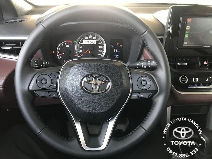 Vô lăng xe Toyota corolla Cross 1.8G 2021