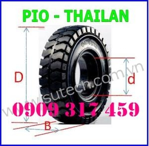 Vỏ xe nâng 28x9-15 (8.15-15) Bridgestone