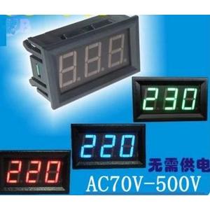 Vôn kế đo điện áp AC 30-500V