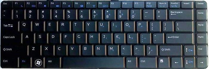 Phím laptop DELL vostro 3500
