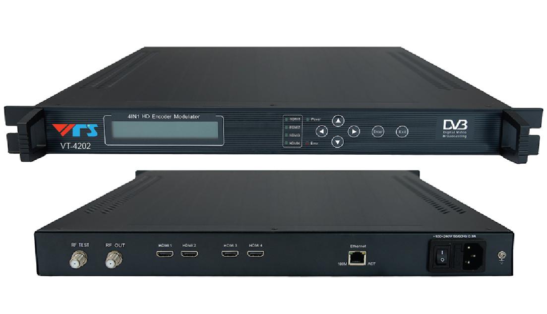 BỘ ĐIỀU CHẾ 4 IN 1 HDMI SANG DVB-T VT-4202
