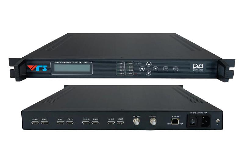 VT-4256 8IN1 DVB-T HD Encoder Modulator