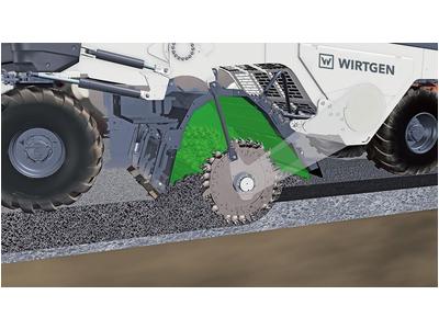 Máy tái tạo mặt đường Wirtgen WR 200