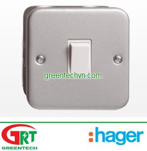 Hager XP120MC   XP220MC   XP320MC   XP420MC   Công tắc ổ cắm Hager   Hager Viet Nam