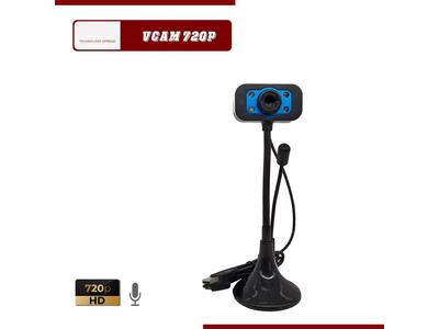 Webcam Học trực truyến có mic 720p HD