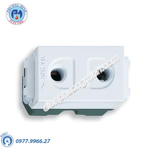 Ổ cắm đơn (dùng cho phích cắm tròn) - Model WEG1090SW