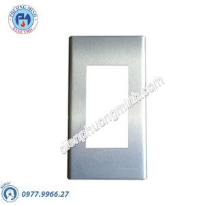 Mặt kim loại bằng nhôm dùng cho 3 thiết bị - Model WEG6503-1