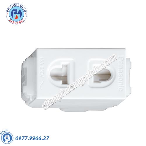 Ổ cắm đơn có màn che - Model WEV1081-7SW
