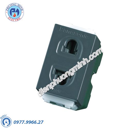 Ổ cắm đơn có màng che - Model WEV1081-7H