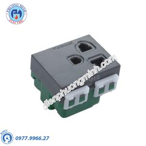 Ổ cắm đơn có màn che và dây nối đất - Model WEV1181-7H