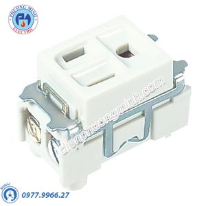 Ổ cắm đơn có dây nối đất - Model WN11017W