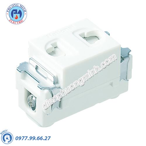 Ổ cắm đơn có màn che - Model WNV1081-7W