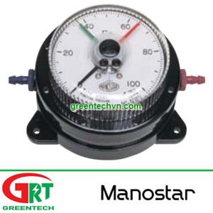 WO81FT | Manostar WO81FT | Đồng hồ chênh áp Manostar WO81FT | Differential pressure gauge WO81FT