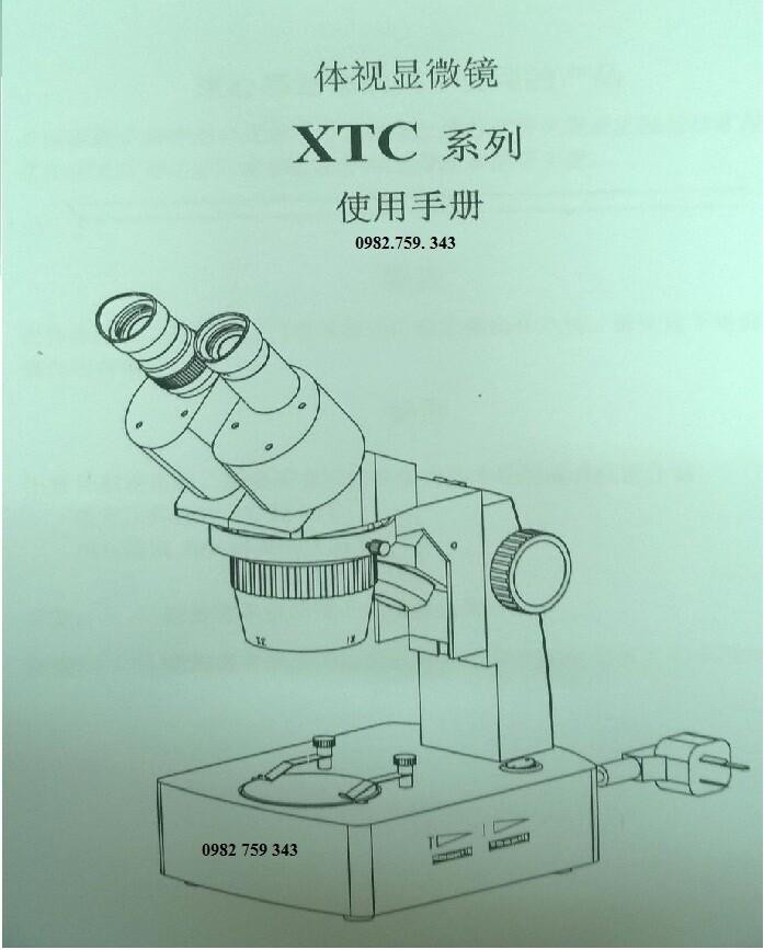 Kính hiển vi soi nổi 10 - 45 lần XTC