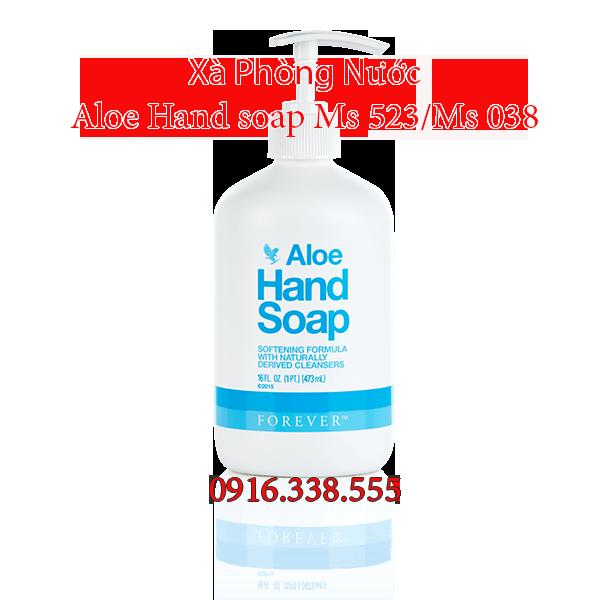 Xà Phòng Nước  Aloe Hand soap Ms 523/Ms 038