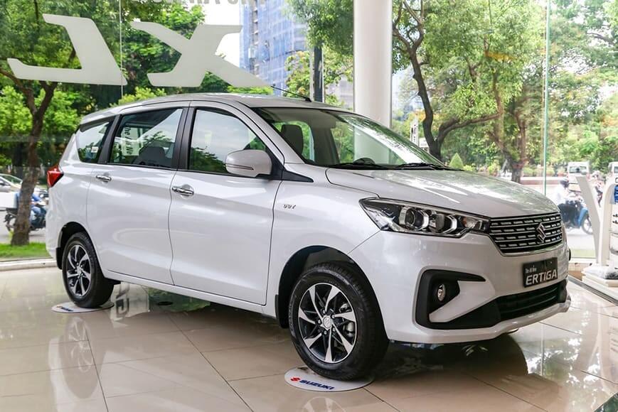 Xe 7 chỗ giá rẻ Suzuki Ertiga tại Việt Nam