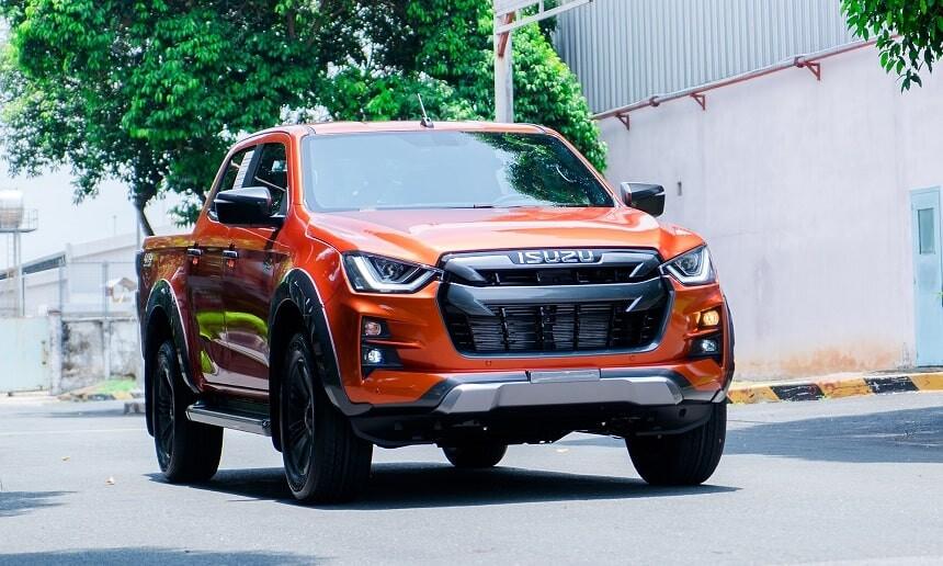 Xe bán tải bán chạy tháng 5 isuzu dmax đứng thứ 5