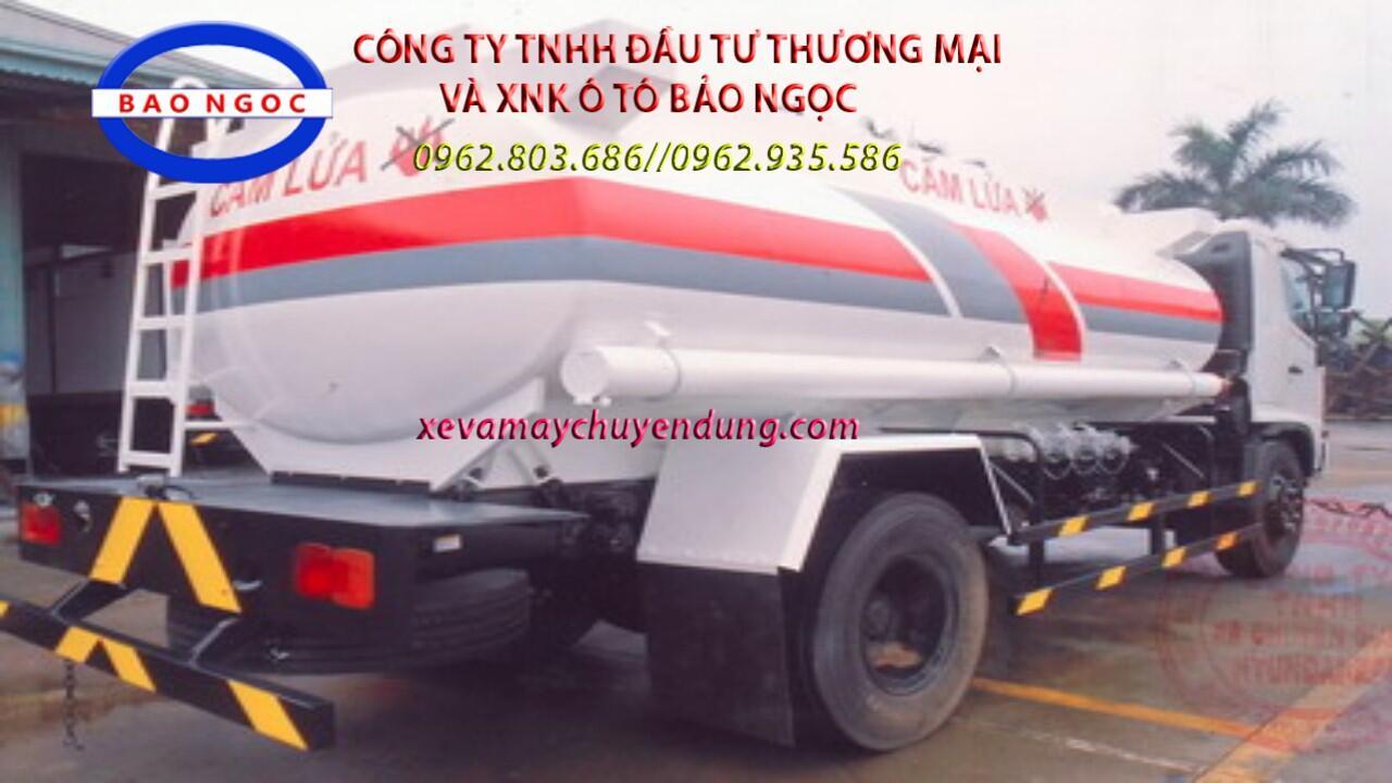 Xe bồn chở xăng dầu 11m3 HINO FG