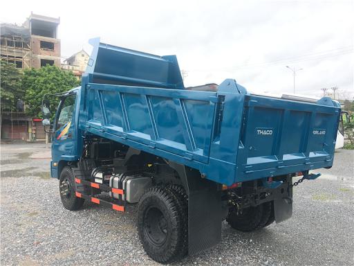 Xe tải Thaco Forland FD500E4-4WD/FD990-4WD - Thùng ben - Tải 4,99 tấn