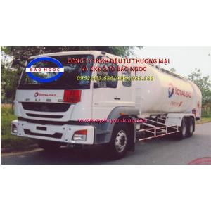 Xe bồn 3 chân fuso chở 22 lít khí hóa lỏng LPG