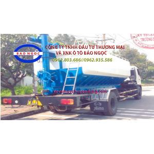 Xe bồn chở cám, thức ăn gia súc 13 khối HINO FG8JPSB
