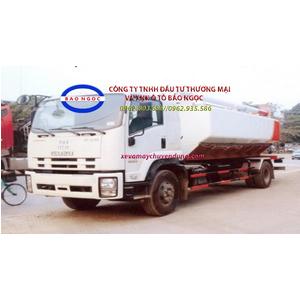 Xe bồn chở cám, thức ăn chăn nuôi 16 khối ISUZU FVR 34Q