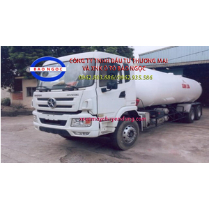 Xe bồn chở khí hóa lỏng LPG 22 khối DAYUN 3 chân