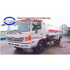 Xe téc chở xăng dầu 11 khối HINO FG