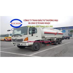 Xe bồn chở xăng dầu 18,5 khối hino FM