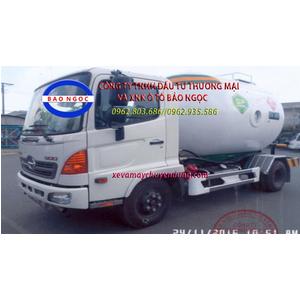 Xe bồn hino FC chở 8 kít khí hóa lỏng LPG