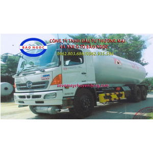Xe bồn hino FL chở 22 lít khí hóa lỏng LPG