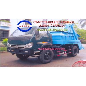 Xe chở bùn 4 khối thaco forland FLD600C