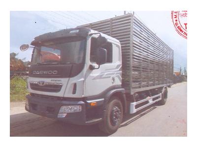 Xe chở gia cầm, xe chở gà Daewoo 9 tấn KC6A1, thùng dài 7,5 mét Euro 4
