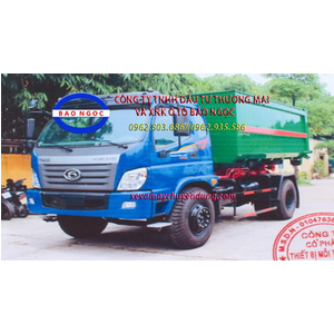 Xe chở rác thùng rời 10 khối (m3) thaco FD9500