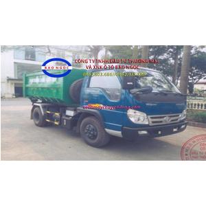 Xe chở rác thùng rời ( hooklift) 6 khối forland thaco FLD 345D
