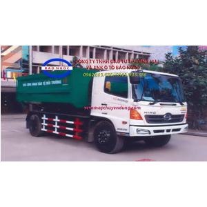 Xe chở rác thùng rời hooklift 14 khối HINO FG