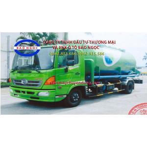 Xe chở thức ăn chăn nuôi 9 khối kiểu khí nén HINO FC9JJSW