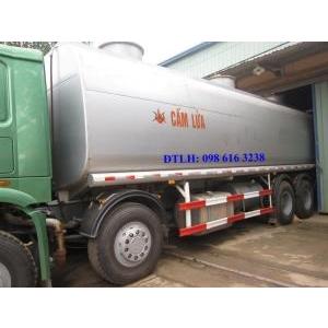 Xe chở xăng dầu 4 chân Howo 371 Ps mới 99% cũ đã qua sử dụng sx 2012