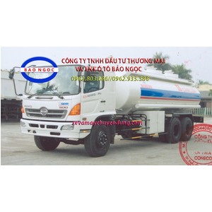 Xe téc chở xăng dầu 19,5 khối HINO FL