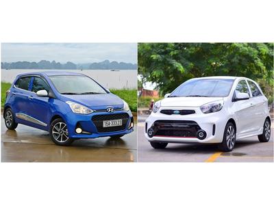 Xe cỡ nhỏ hạng A nên mua Kia Morning hay Grand i10?