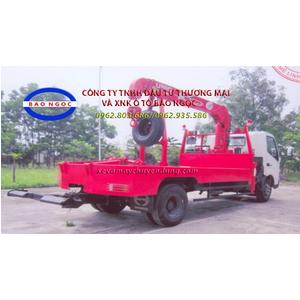 Xe cứu hộ giao thông cẩu kéo HINO XUZ 730 gắn cẩu unic 3 tấn