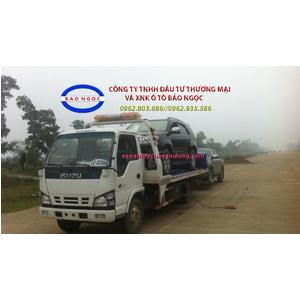Xe cứu hộ giao thông sàn trượt isuzu 2,5 tấn