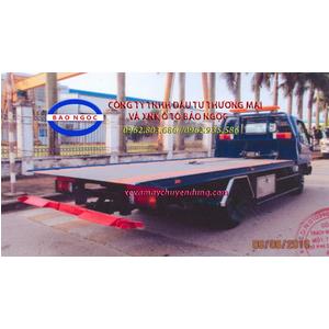 Xe cứu hộ giao thông hyundai hd650 sàn trượt kéo chở xe