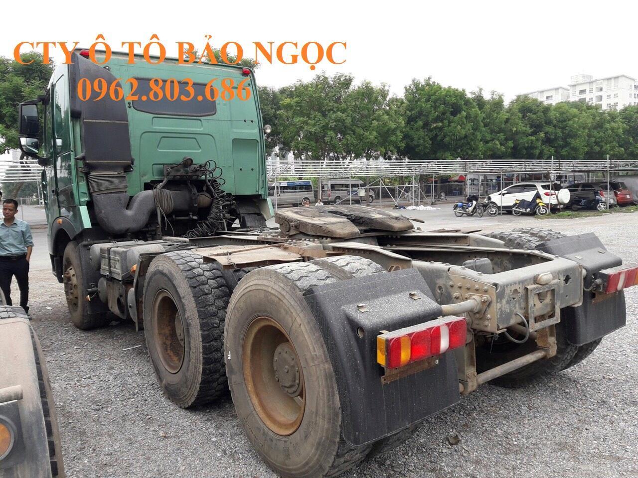 Xe đầu kéo cũ đã qua sử dụng 375 nóc thấp cầu dầu