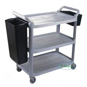 Xe đẩy dọn bàn ăn vệ sinh HiClean HC161A