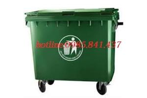 Xe đẩy rác 400 lít- hàng mới nhập kho- giảm giá cực sốc