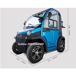 Xe điện mini 2 chỗ
